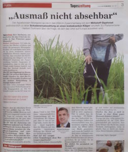 Interview mit Herbert Dorfmann über das Monsanto Urteil
