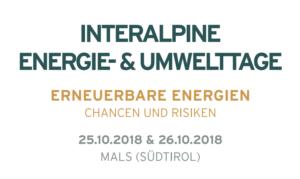 Interalpine Energie- und Umwelttage in Mals 2018