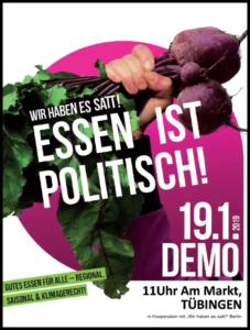 Tübingen + Berlin Demo
