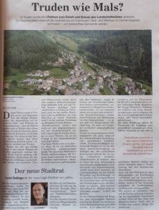Pestizidfreie Gemeinde Truden