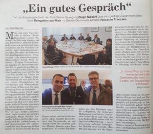 Ulrich Veith und Johannes Fragner-Unterpertinger in Rom