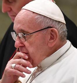 Papst Franziskus - Kampagne für veganes Fasten