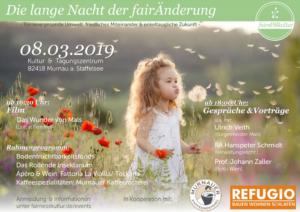 Die lange Nacht der Veränderung - 8. März 2019 in Murnau