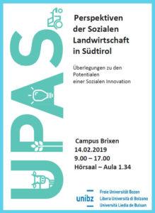 Perspektiven der Sozialen Landwirtschaft in Südtirol
