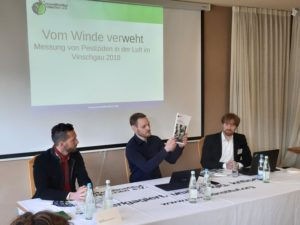 Pressekonferenz Umweltinstitut München am 08.März 2019 in Mals