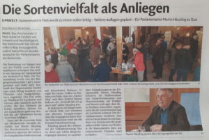 Samenmarkt Mals 2019 - Sockerhof