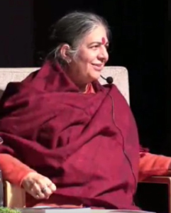 Vandana Shiva am 11. April 2019 in Mals
