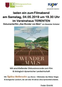 Das Wunder von Mals wird am 04. Mai 2019 in Terenten gezeigt
