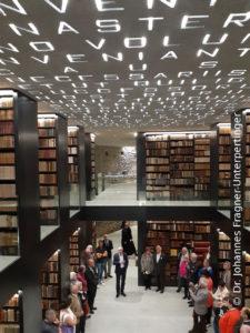 Bibliothek Kloster Marienberg in Burgeis/Mals