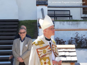 Abt Markus vom Kloster Marienberg in Burgeis/Mals