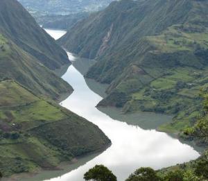 Kolumbien - rio cauca - Umweltschutz