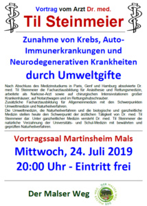 Til Steinmeier am 24. Juli 2019 in Mals