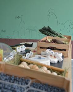 Bio Produkte von Vinschger Bauern - Lebensmittel Laden da