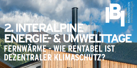 2. Interalpine Energie- & Umwelttage in Mals am 07. & 08. November 2019