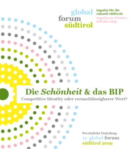 11. global forum Südtirol 2019