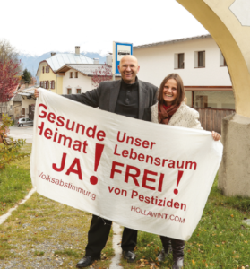 Johannes Fragner-Unterpertiner mit Dr. Elisabeth Viertler