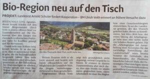 Arnold Schuler für Bio-Region Obervinschgau