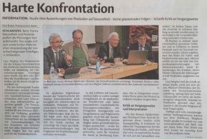 Umweltschutzgruppe Vinschgau lud ein zum Thema Pestizide und Gesundheit