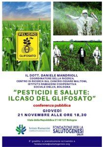 pesticidi e salute - il caso del glifosato