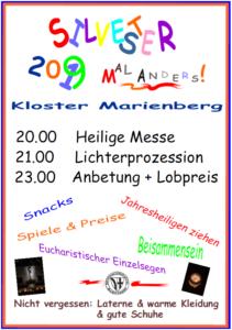 Kloster Marienberg - Silvester mal anders