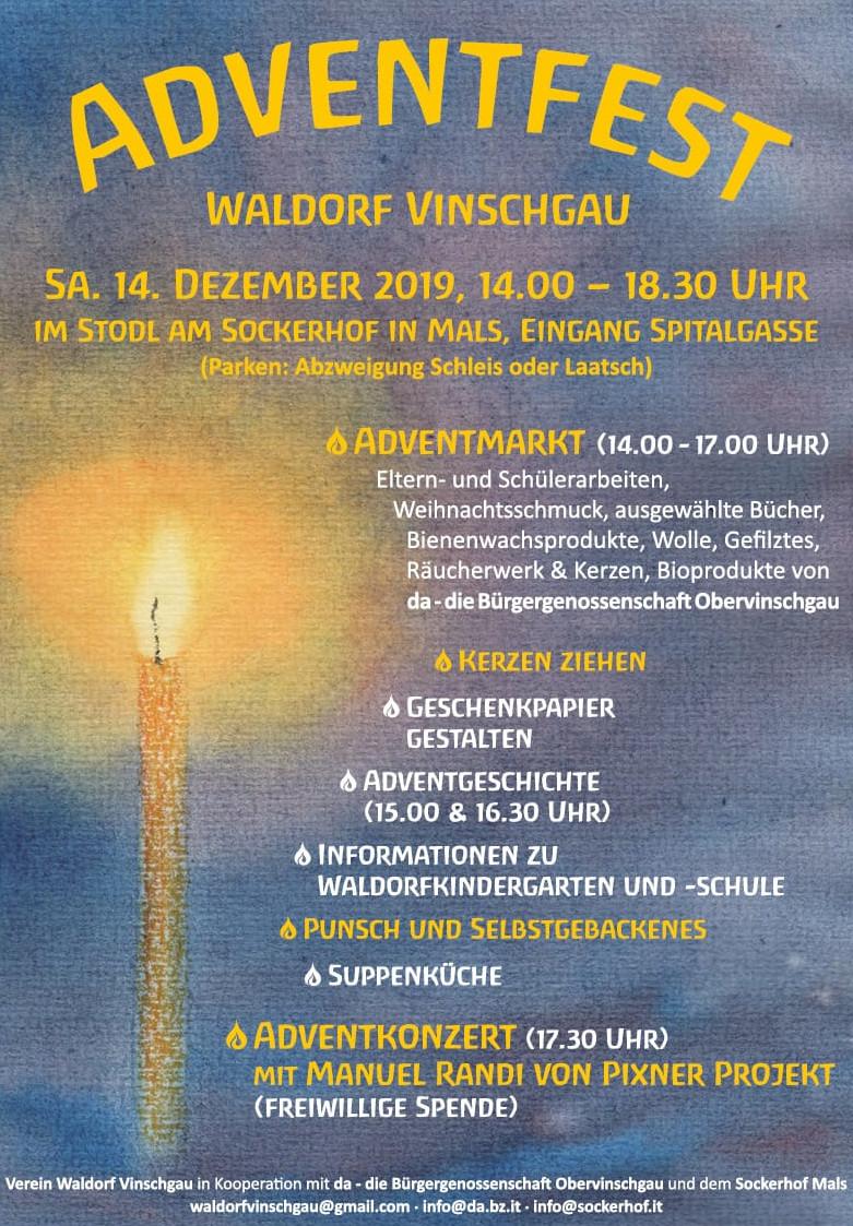 Adventfest Waldorf Vinschgau