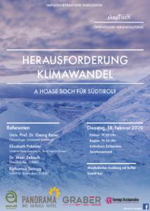 Herausforderung Klimawandel in Südtirol